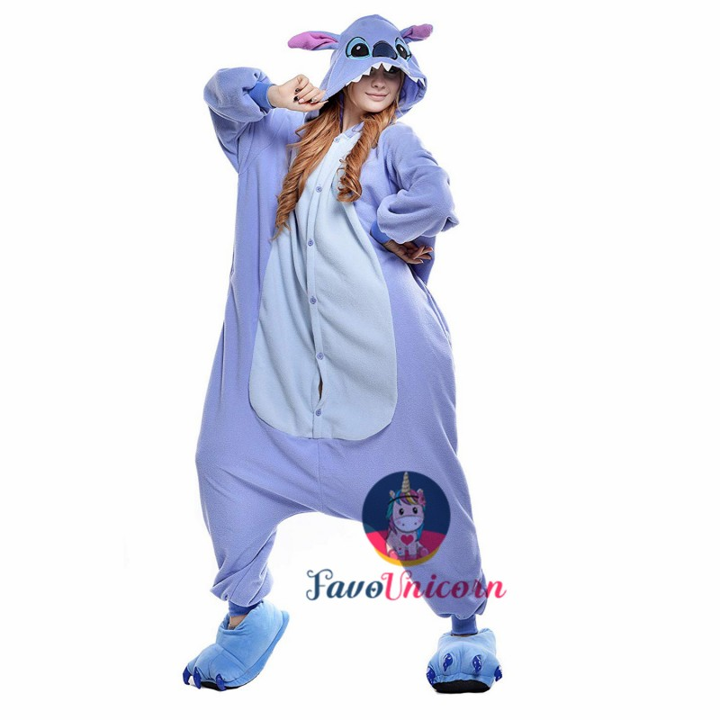 Adults Kids Lilo Stitch Onesie Costume Halloween Animal Onesies Favounicorn Com