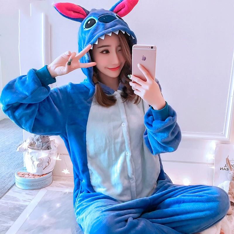 Lilo Stitch Onesie Costume Pajamas For Adults Teens Halloween Outfit Favounicorn Com