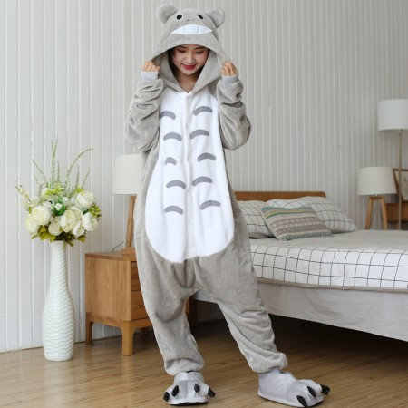 Animal Totoro onesie for adults Women & Men's Halloween Costume Suit