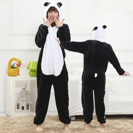 Panda Onesie for Women & Men Costume Onesies Pajamas Halloween Outfit