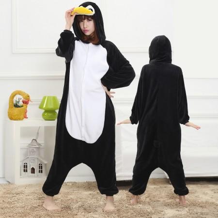 Penguin Onesie for Women & Men Costume Onesies Pajamas Halloween Outfit