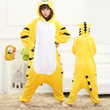 Tiger Onesie for Women & Men Costume Onesies Pajamas Halloween Outfit