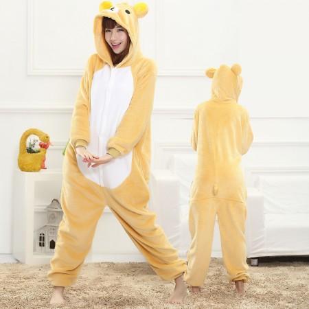 Rilakkuma Onesie for Women & Men Costume Onesies Pajamas Halloween Outfit