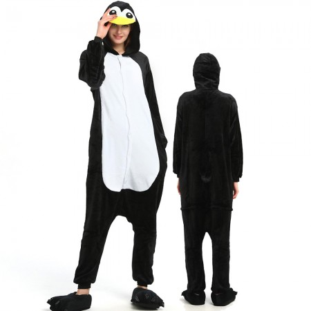 Penguin Onesie for Women & Men Costume Onesies Pajamas Halloween Outfit