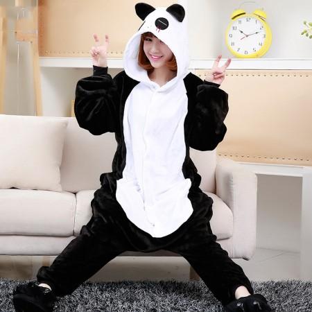 Cute Panda Costume Onesie Pajama Adult Animal Onesies Outfits