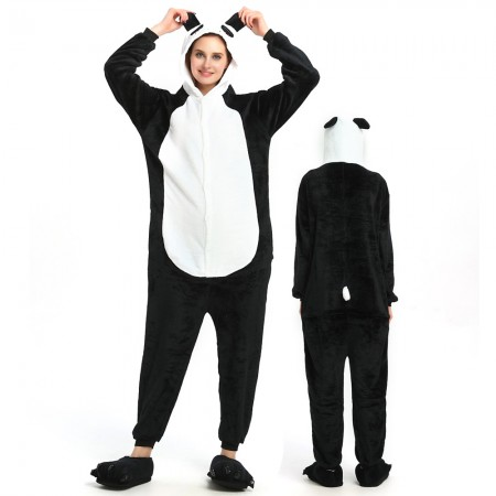 Cute Panda Onesie for Women & Men Costume Onesies Pajamas Halloween Outfit
