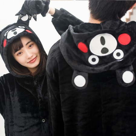 Kumamon Costume Onesie Pajama for Adults & Kids Outfit