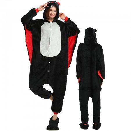 Women & Men Bat Onesie Costume Onesies Pajamas for Halloween