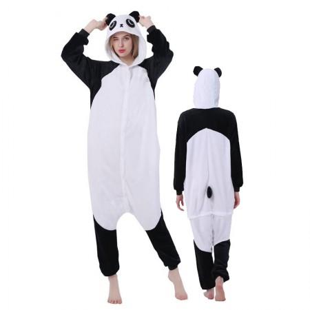 Women & Men Panda Onesie Costume Onesies Pajamas for Halloween