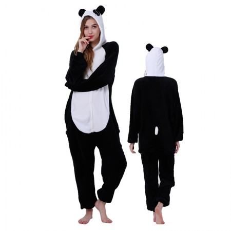 Women & Men Tears Panda Onesie Costume Onesies Pajamas for Halloween