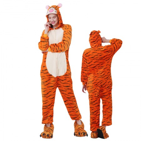 Tigger Onesie for Women & Men Costume Onesies Pajamas Halloween Outfit