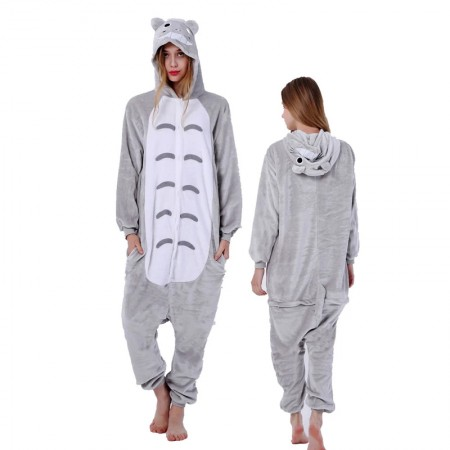 Totoro Onesie for Women & Men Costume Onesies Pajamas Halloween Outfit