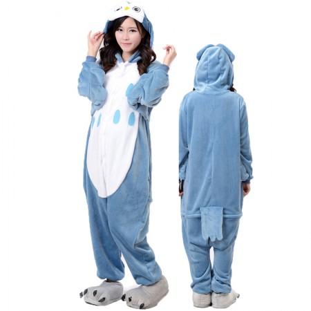 Blue Owl Onesie for Women & Men Costume Onesies Pajamas Halloween Outfit