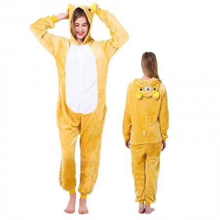 Rilakkuma Onesie for Women & Men Costume Onesies Pajamas Halloween Outfit