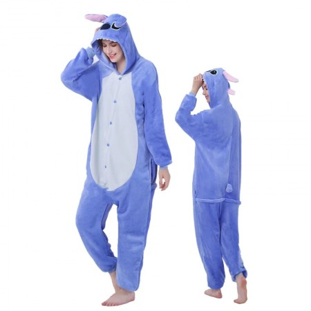 Stitch Onesie for Women & Men Costume Onesies Pajamas Halloween Outfit