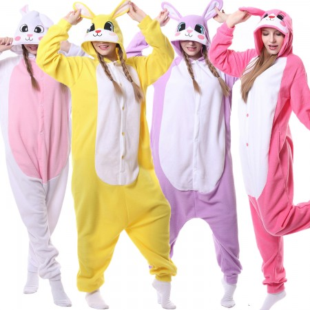Adults Rabbit Bunny Onesies Costumes