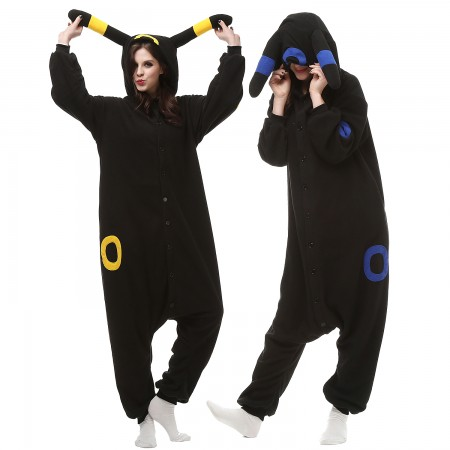 Pokemon Umbreon Onesies Costumes For Adults & Teens