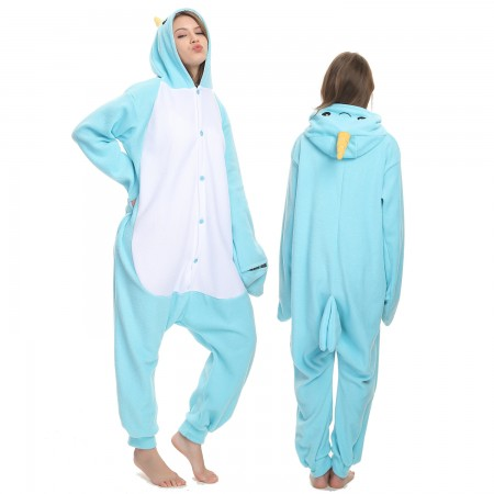 Narwhal Onesie Costume Pajama for Adult Women & Men Halloween Costumes