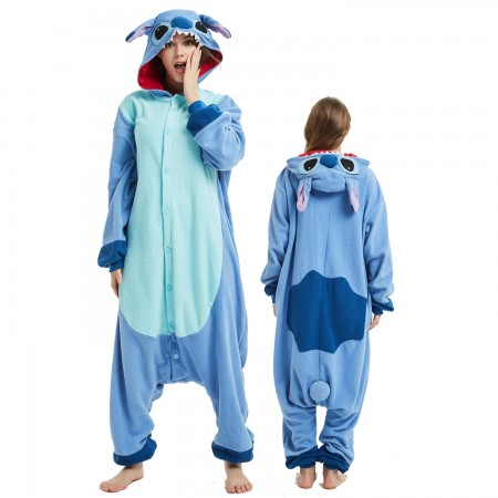 Lilo & Stitch Onesie Costume Pajama for Adult Women & Men Halloween Costumes