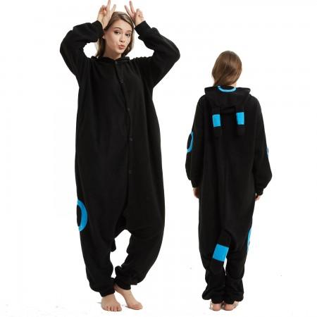 Pokemon Blue Monster Onesie Costume Pajama for Adult Women & Men Halloween Costumes