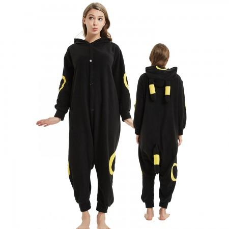 Pokemon Yellow Monster Onesie Costume Pajama for Adult Women & Men Halloween Costumes