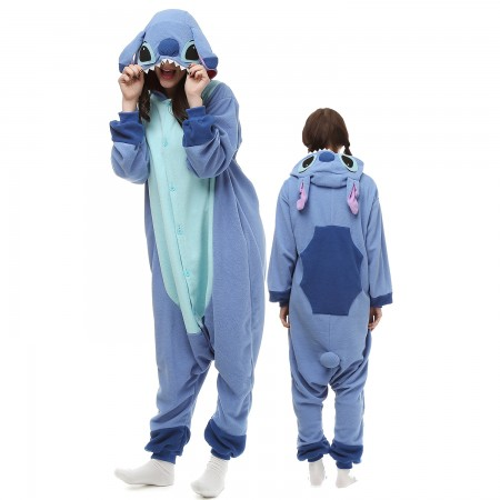 Lilo & Stitch Costume Onesie Pajamas Adult Animal Onesie for Women & Men