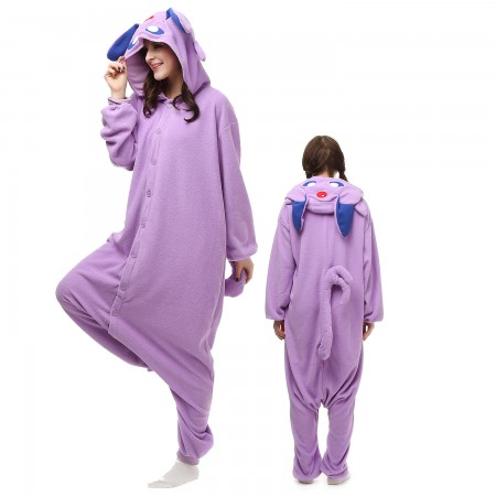 Pokemon Purple Monster Costume Onesie Pajamas Adult Animal Onesie for Women & Men