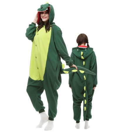 Dinosaur Costume Onesie Pajamas Adult Animal Onesie for Women & Men