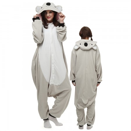 Koala Costume Onesie Pajamas Adult Animal Onesie for Women & Men