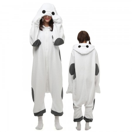 Baymax Costume Onesie Pajamas Adult Animal Onesie for Women & Men