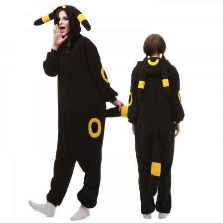 Pokemon Yellow Monster Costume Onesie Pajamas Adult Animal Onesie for Women & Men