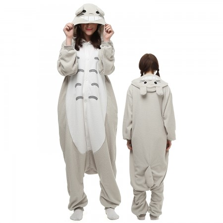 Totoro Costume Onesie Pajamas Adult Animal Onesie for Women & Men