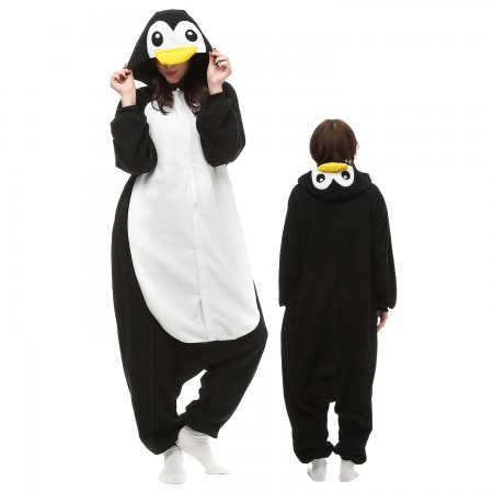 Penguin Costume Onesie Pajamas Adult Animal Onesie for Women & Men
