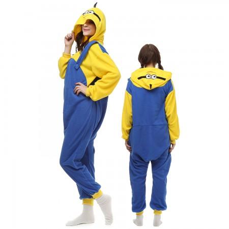 Minions Costume Onesie Pajamas Adult Animal Onesie for Women & Men