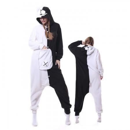 Monokuma Costume Onesie Pajamas Adult Animal Costumes for Women & Men