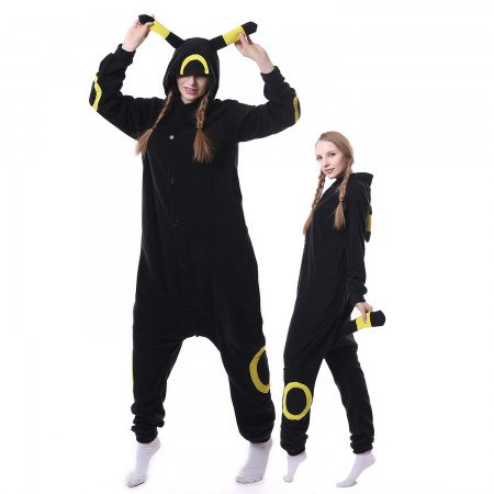 Yellow Moon Monster Costume Onesie Pajamas Adult Animal Costumes for Women & Men