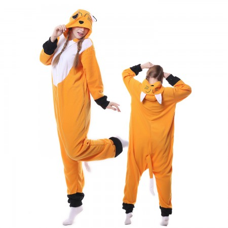 Fox Costume Onesie Pajamas Adult Animal Costumes for Women & Men