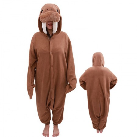 Walrus Costume Onesie Pajamas Adult Animal Costumes for Women & Men
