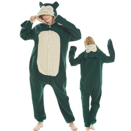 Snorlax Onsesie Costume Pajamas Animal Onesies For Adult Women & Men