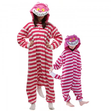 Cheshire Cat Onesie Costume  Animal Onesies for Adults & Kids