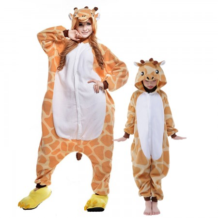 Giraffe Onesie Costumes for Kids & Adults