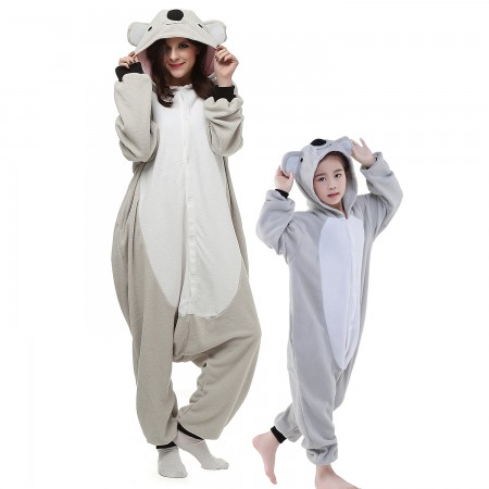 Kids & Adults Koala Onesie Costumes