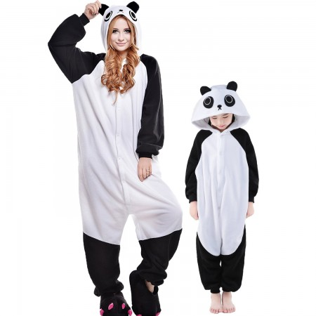 Panda Onesie Costumes for Kids & Adults