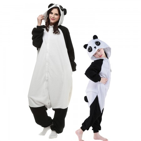 Adults & Kids Panda Onesie Costumes Animal Onesies