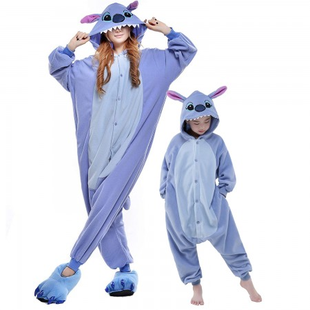 Adults & Kids Lilo & Stitch Onesie Costume Halloween Animal Onesies