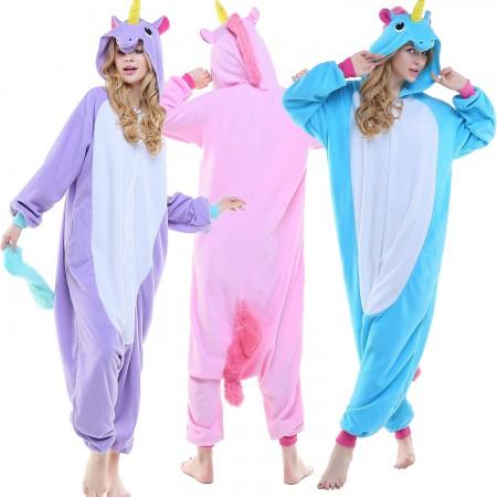 Adults Unicorn Onesie Costume for Women & Men