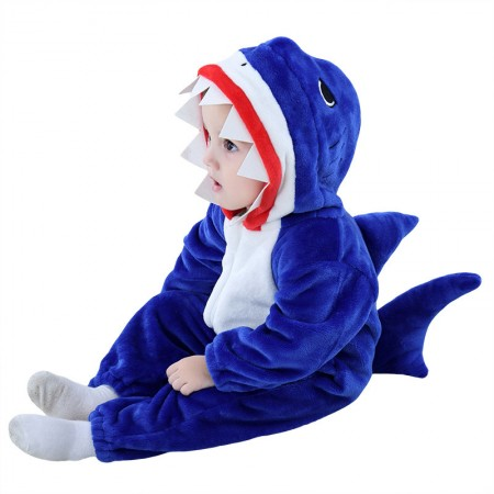 Shark Onesie Pajama Toddler Animal Costume for Baby Infant
