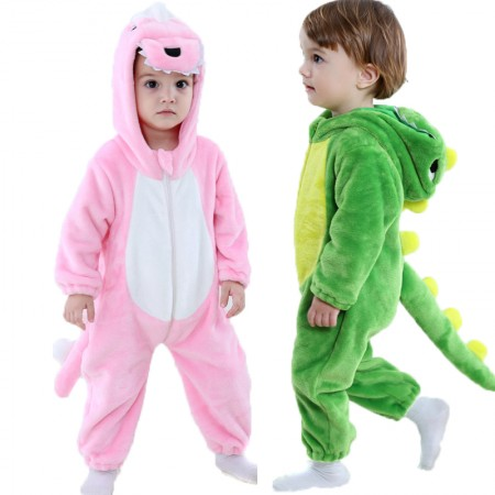 Dinosaur Onesie Pajama Toddler Animal Costume for Baby Infant