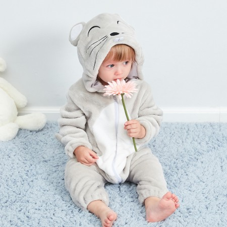 Baby Mouse Onesie Pajama Animal Onesies Costume for Toddler Infant