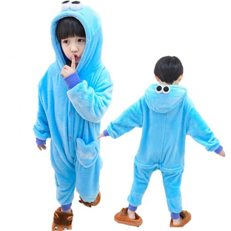 Sesame Street Onesie Costume Pajama Kids Animal Outfit for Boys & Girls